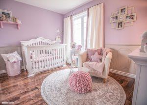 Nursery in pink